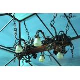 Люстры, фонари и светильники