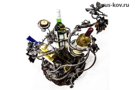 Подставка для трёх бутылок вина